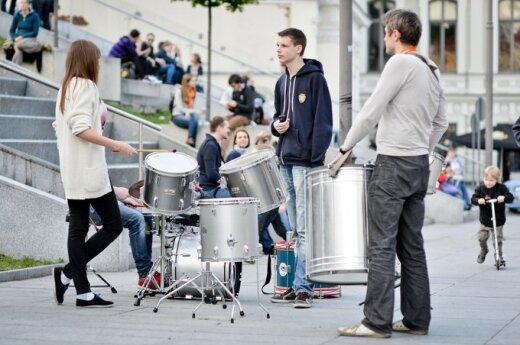 Muzikos ir donorystės derinys - Gatvės muzikos dieną