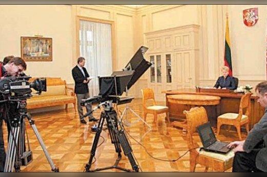 Грибаускайте взялась за ремонт президентского дворца