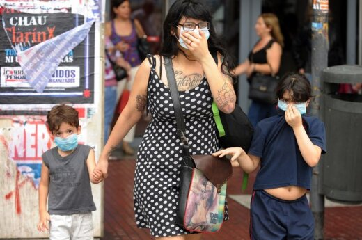 Argentyna: Buenos Aires przykryła toksyczna chmura