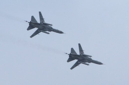 Russian jets and warships detected at Latvian borders