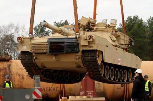 В Литву доставили американскую военную технику