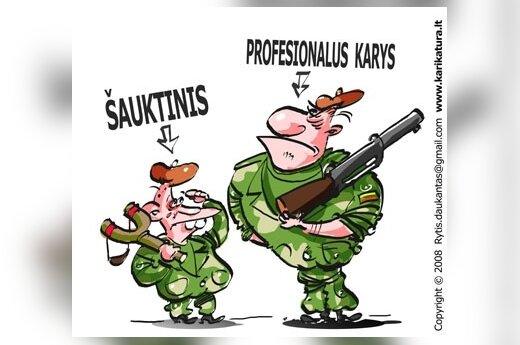 Степонавичюс: к армии призывников возвращаться не будут