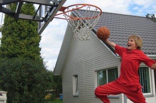 Mano kiemo krepšinis: myliu žaidimą nuo mažumės