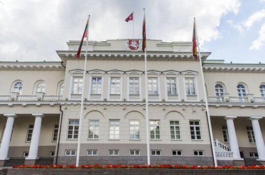 Lithuania's President Palace in Vilnius