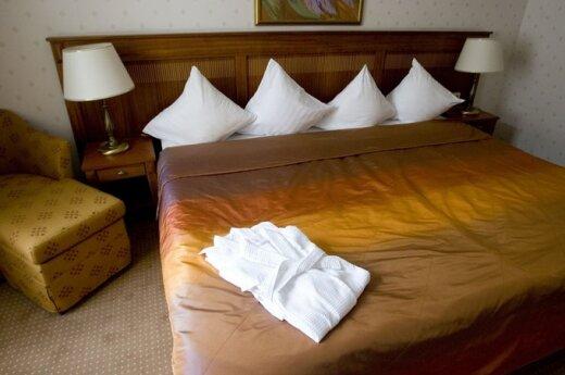 Каунасские гостиницы удлиняют кровати для баскетболистов