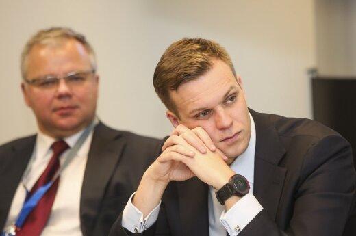 Aleksandras Spruogis ir Gabrielius Landsbergis