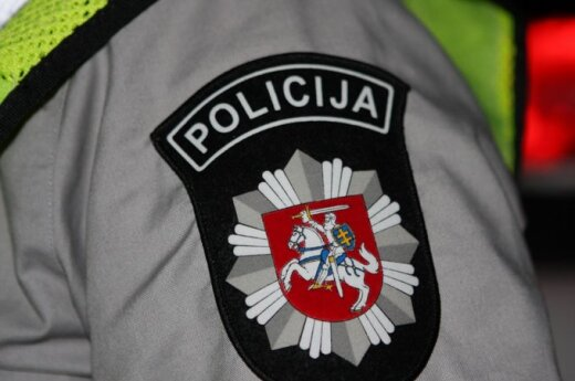 В Укмерге хулиганы избили полицейских