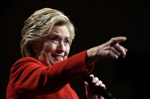 Priešrinkiminis siurprizas, kuris atskleidė juodąją H. Clinton pusę
