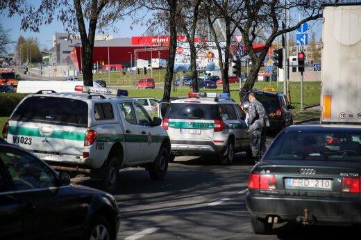 В Вильнюсе на оживленной улице был ранен водитель такси