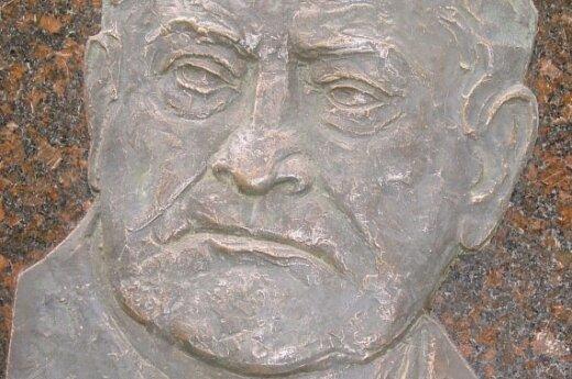Algirdo Brazausko bareljefas, D.Baronienės nuotr.