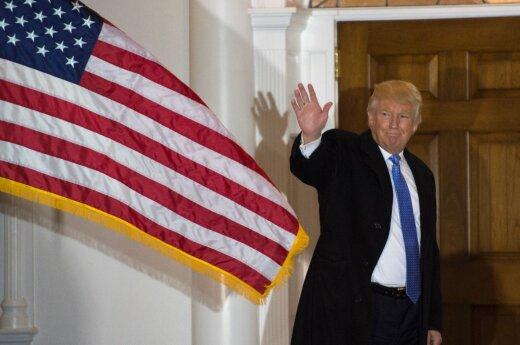 Po balsų perskaičiavimo prezidento rinkimų laimėtoju Mičigane paskelbtas D. Trumpas