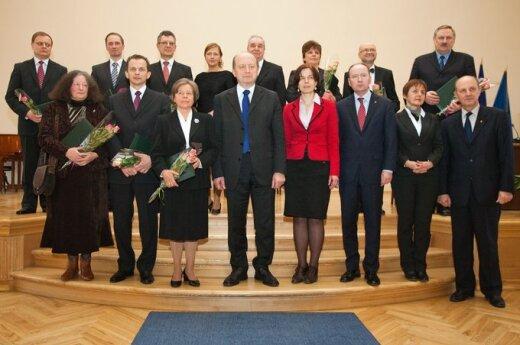 Apdovanoti Lietuvos mokslo premijos laureatai