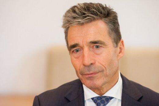 Экс-генсек НАТО Расмуссен: альянс вмешается в случае атаки России на страны Балтии