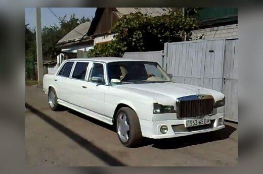Ukrainiečio sukonstruotas limuzinas