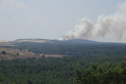 Fire on the Curonian Spit