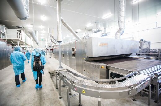 Lithuania's biggest bakery opens new plant