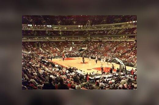 "Pustuštė ""Bulls"" arena"