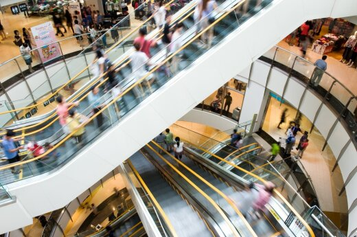 Lithuania's shopping malls hit by summer lull