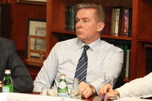 Ažubalis krytykuje białoruską opozycję i nie popiera bojkotu Ukrainy