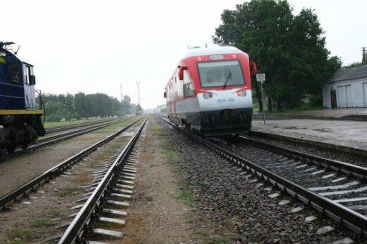 В Вильнюсе поезд сбил молодого человека