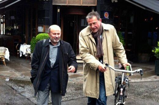 Gytis Lukšas su Jensu Christianu Grondahliu