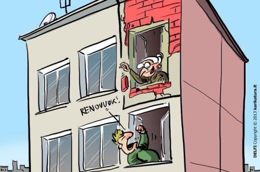 Renovacijos grimasos: sutikimas dabar, paaiškinimai - vėliau?