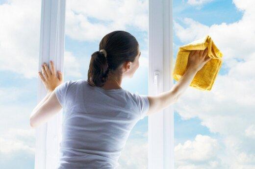 Idėjos iš profesionalų, kaip greitai išblizginti namus
