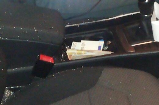 Пьяный водитель давал полицейским взятку в размере 1000 евро