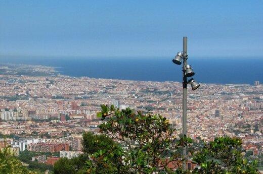 Tibidabo kalnas Barselonoje
