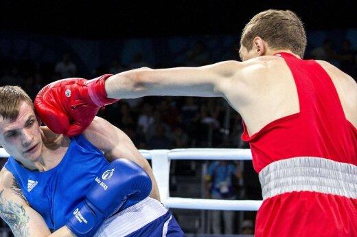 Boksininkas E. Skurdelis pralaimėjo pasaulio čempionui
