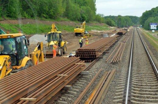 Rail Baltica construction