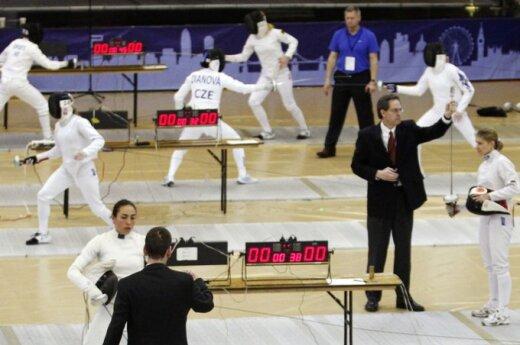 Šiuolaikinės penkiakovės Pasaulio taurės etapo Šarlotėje (JAV) moterų varžybų finalas