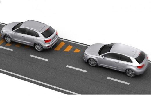 Audi A3 pagalbinės sistemos