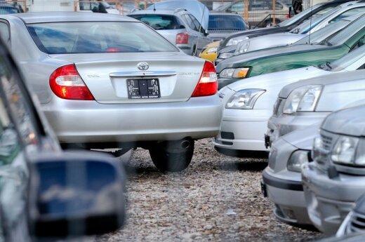 Белорусы спешат вывезти купленные в Литве автомобили