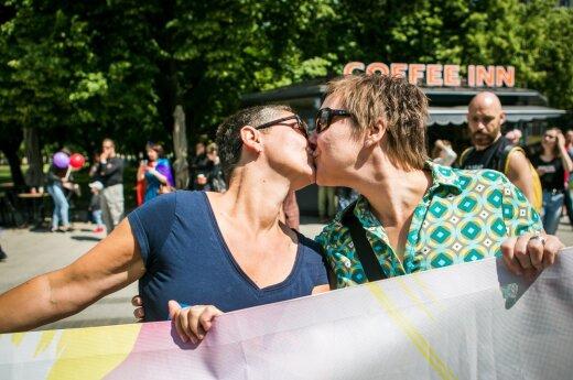Baltic Pride march in Vilnius