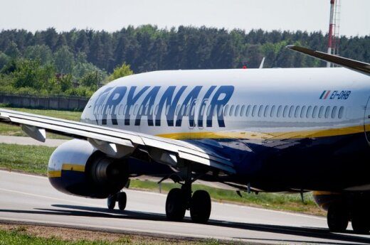 Ryanair lėktuvas