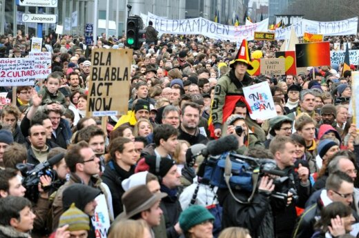 Belgia: 40 000 demonstrantów wyszło na ulice