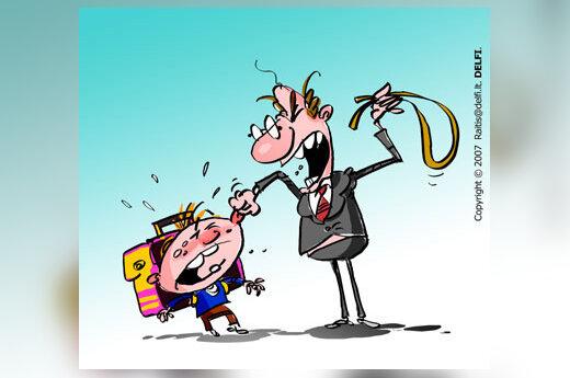 Mokytojų smurtas