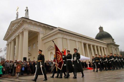 Отмечают День Литовской армии