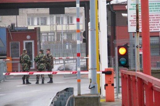 Pasienis su Kaliningrado sritimi