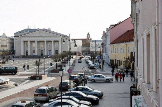 Vilniaus Rotušės aikštė 2009 m.