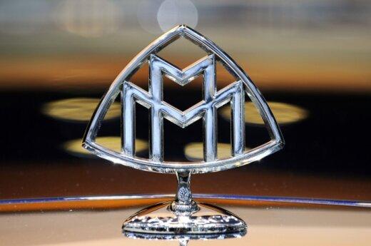 Брошенный люксовый седан Maybach cтоит на парковке уже четвертый год