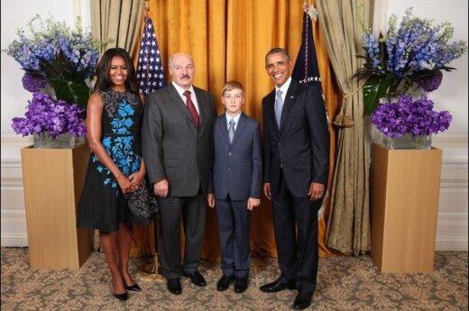 Александр и Николай Лукашенко встретились с Бараком Обамой