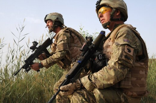 Великобритания разместит в странах Балтии 100 военнослужащих