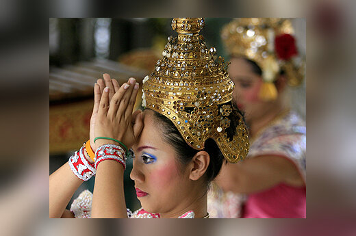 Tailando šokėja