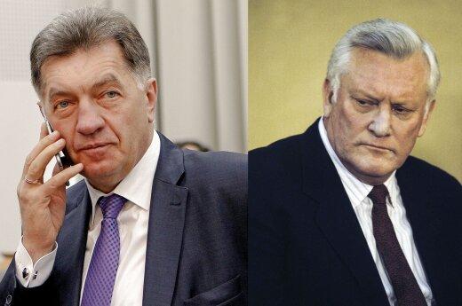 Algirdas Butkevičius ir Algirdas Brazauskas