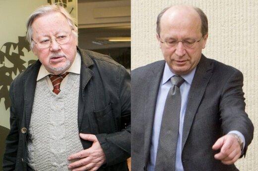 Vytautas Landsbergis, Andrius Kubilius