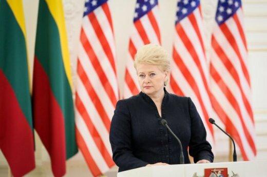 Грибаускайте о санкциях против России: это обернется против нас