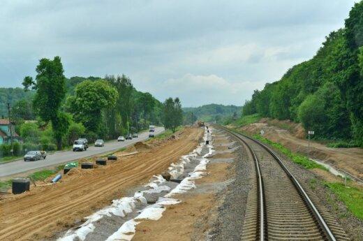 Rail Baltica track
