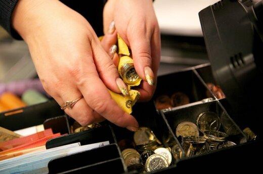 Евро в магазинах Литвы: опасения подтвердились